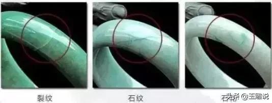 翡翠手镯怎么区分纹裂,怎样区分真假翡翠手镯-第2张图片-翡翠网
