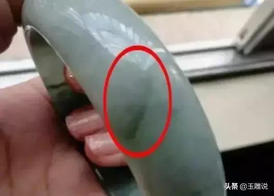 翡翠手镯怎么区分纹裂,怎样区分真假翡翠手镯-第3张图片-翡翠网